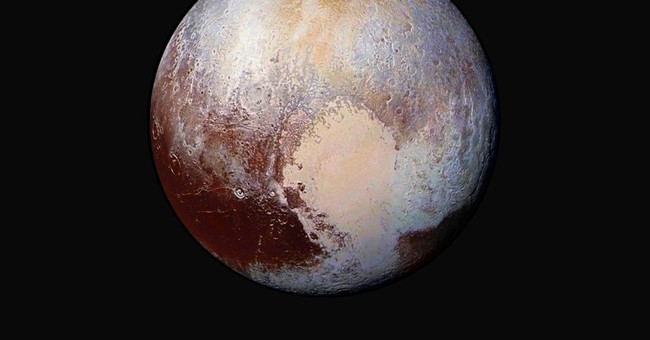 Conditions on Pluto: Incredibly hazy with flowing ice
