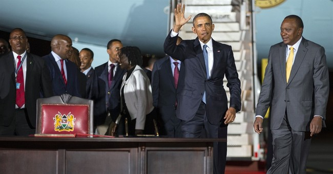 Obama returns to Kenya, reunites with father's family