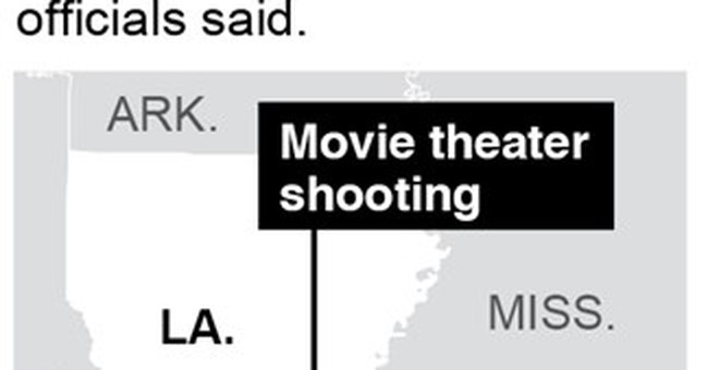 Police: Theater gunman killed with handgun he bought legally
