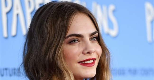 Cara Delevingne takes 'joy ride' from fashion to film
