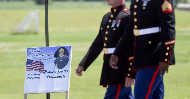 Wisconsin town says goodbye to Marine slain in Tennessee