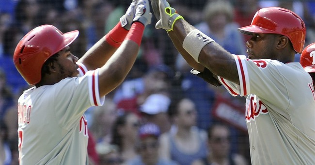 Phillies' Hamels pitches 1st no-hitter vs Cubs in 50 years