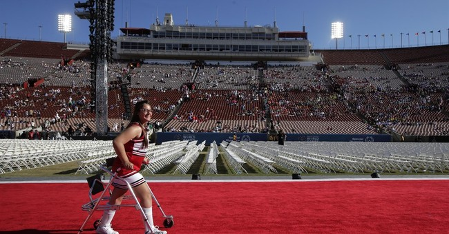 Michelle Obama opens Special Olympics in Los Angeles