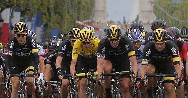Chris Froome wins 2nd Tour de France