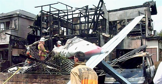 Small plane crashes in Tokyo neighborhood; 3 dead, 3 survive