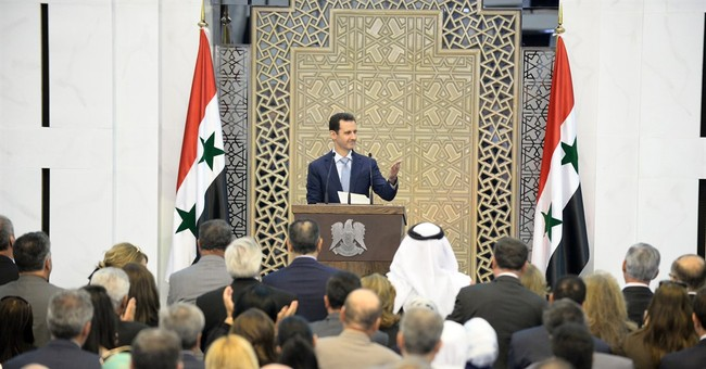 Syria's embattled president admits manpower shortage