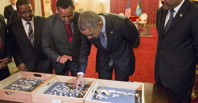 WHITE HOUSE NOTEBOOK: Barack, meet Lucy