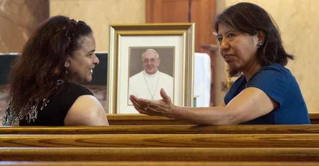 Hispanics energized by Argentinian pope's first visit to US