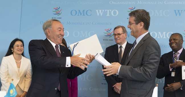 World Trade Organization approves Kazakhstan's membership