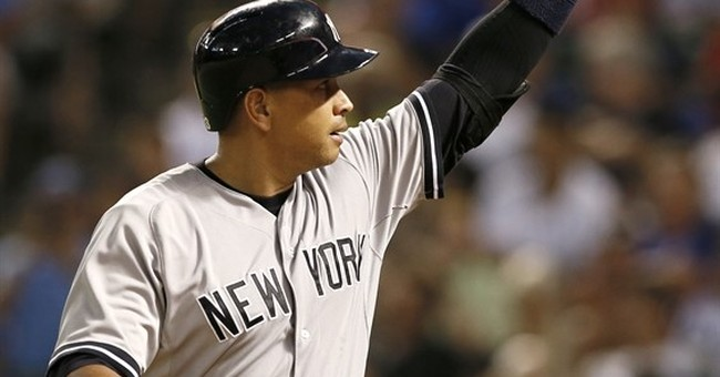 Birthday bash: Alex Rodriguez homers on 40th birthday