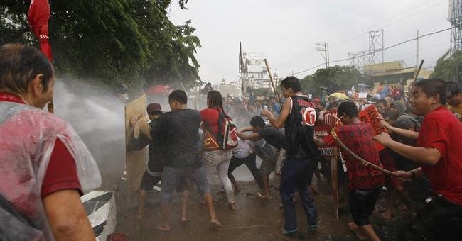 Philippine leader seeks laws to end rebellion, dynasties