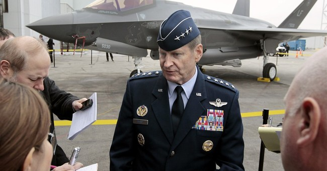 'Just the ticket': 4-star solution to nuclear Air Force ills