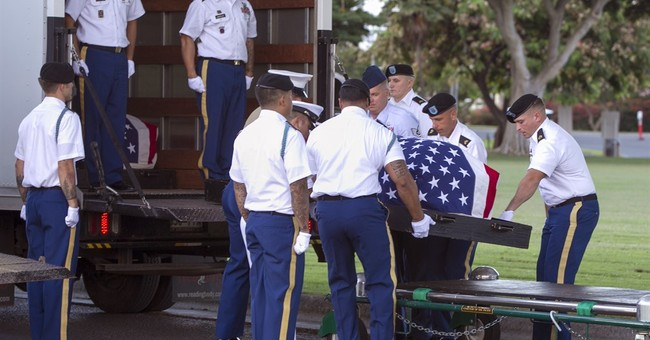 Remains of Pearl Harbor victims raised for identification