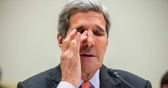The Latest: Kerry's nuke deal testimony translated in Iran
