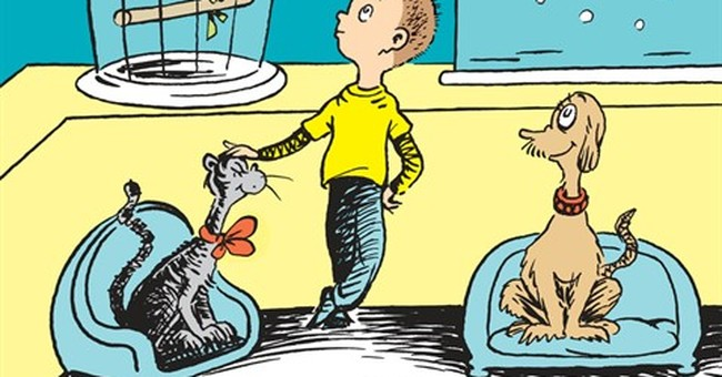 Dr. Seuss book explores what came before 'One Fish Two Fish'