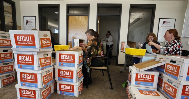 Colorado board's history class review leads to recall effort