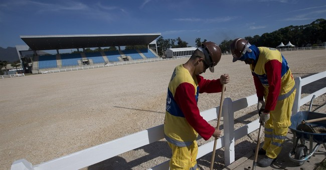 A year away, Olympic organizers counting on sun and samba