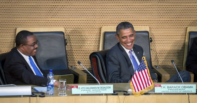 Obama draws criticism for saying Ethiopia is democratic