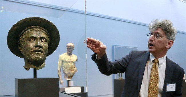 Dozens of brilliant bronze works on display at Getty Museum