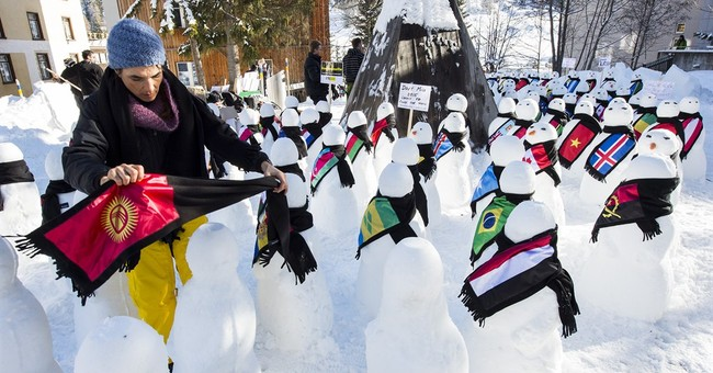 DAVOS WATCH: Snowmen, oil prices, deflation and Pharrell