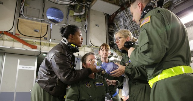 AP PHOTOS: Military unit trains for aeromedical evacuations