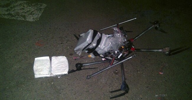 Drug-laden drone crashes near US-Mexico border