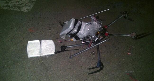Drug-laden drone crashes near US-Mexico border