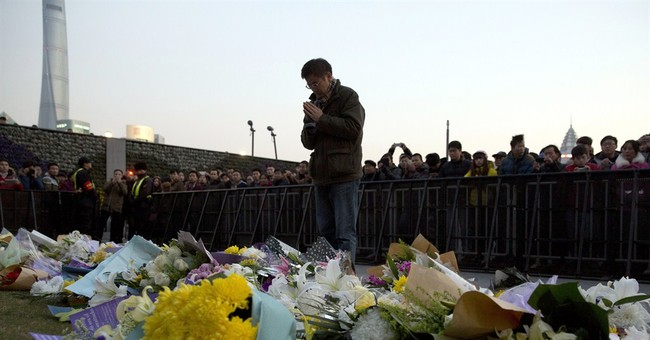 4 Shanghai officials fired in deadly New Year's Eve stampede