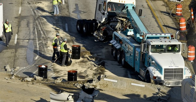 Highway work to resume after deadly Ohio overpass accident