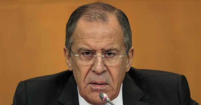 Russian FM accuses US of trying to dominate the world