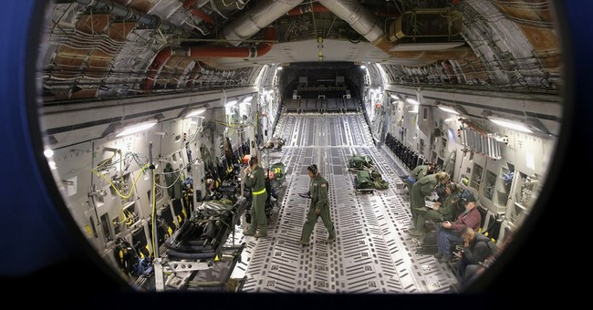 AP PHOTOS: Military unit trains for aeromedical evacuations