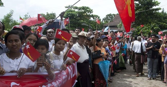 Myanmar's democracy leader runs in Nov. 8 polls to keep seat