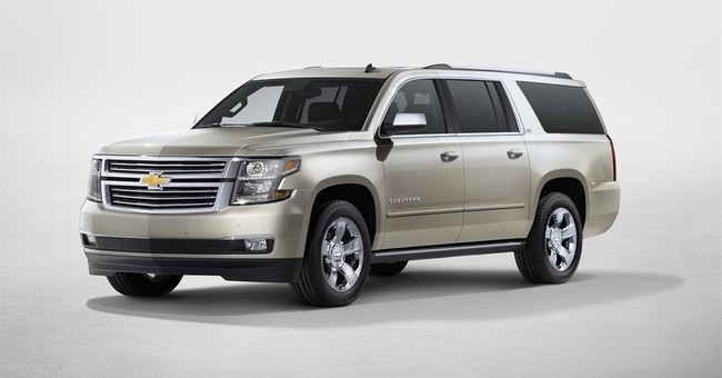 Fact sheet: 2015 Chevrolet Suburban