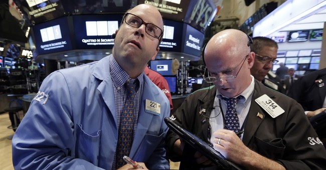 Stocks open lower in US after some weaker company results