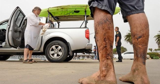 Scientist: Oil slick likely from natural seafloor seepage