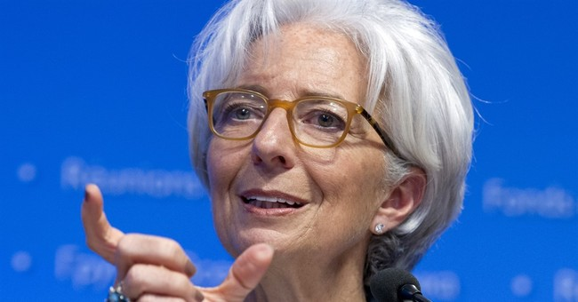 IMF's Lagarde: World economy fragile, faces downside risks