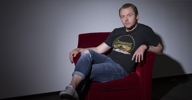 Orbiting secrets, 'Star Wars' and fandom with Simon Pegg