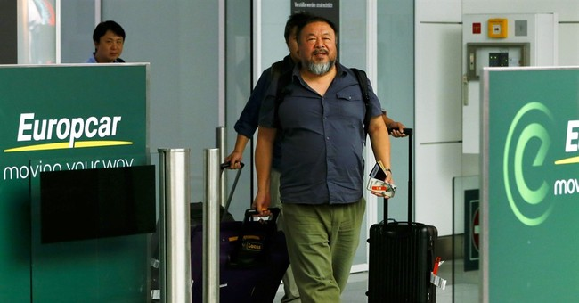 Britain limits Ai Weiwei's visit due to alleged conviction