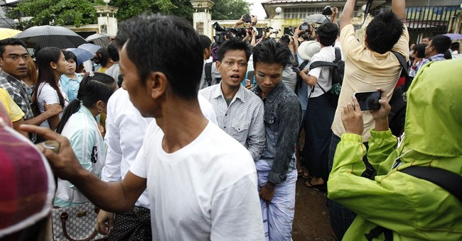 Myanmar pardons China loggers among nearly 7,000 prisoners