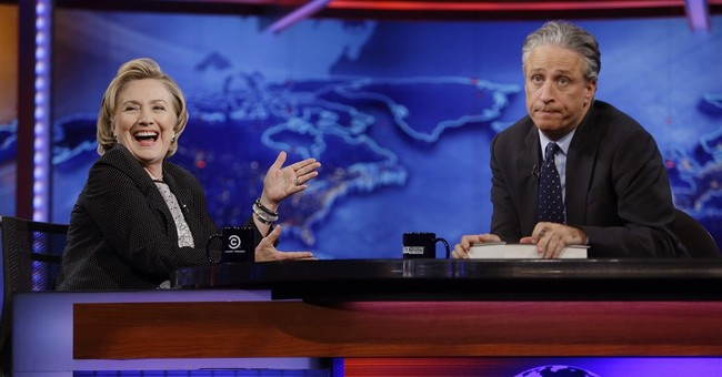 Jon Stewart signing off 'Daily Show' fake newscast for real