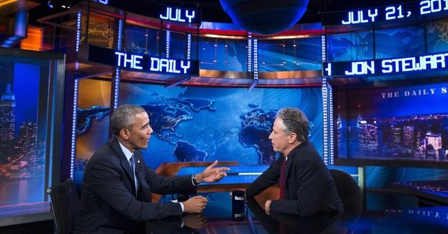 Jon Stewart: Meeting with Obama wasn't a secret