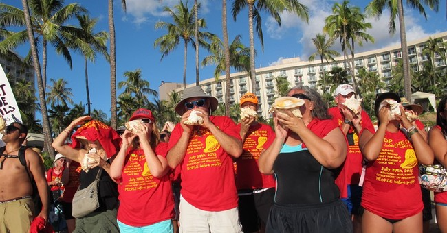 Environmentalists, unions protest Pacific trade pact in Maui