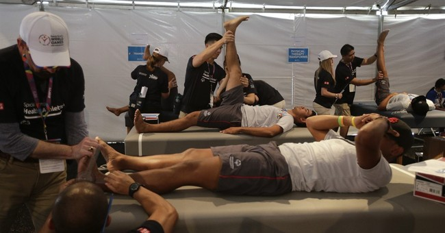 Free checkups helping Special Olympics athletes stay healthy
