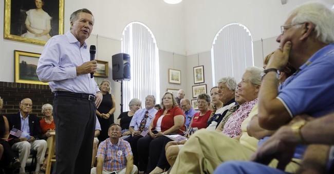 Seeking pre-debate boost, Kasich zeroes in on New Hampshire