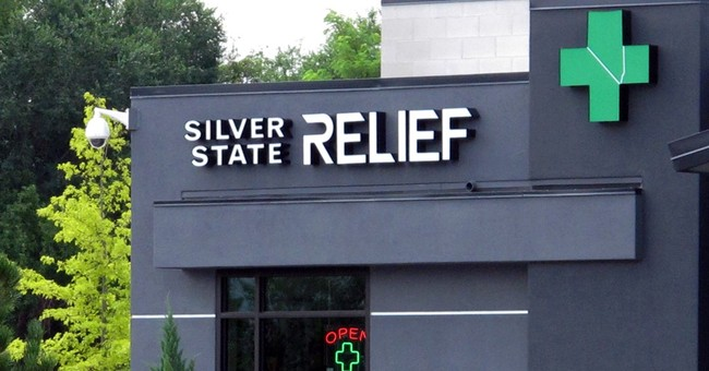 1st legal medical pot sold in Nevada 15 years after approval