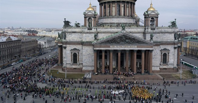 Russian Orthodox Church pushes for control over St. Isaac's