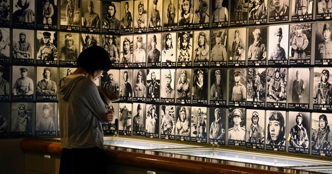 Japanese girl's WWII job: waving goodbye to kamikaze pilots