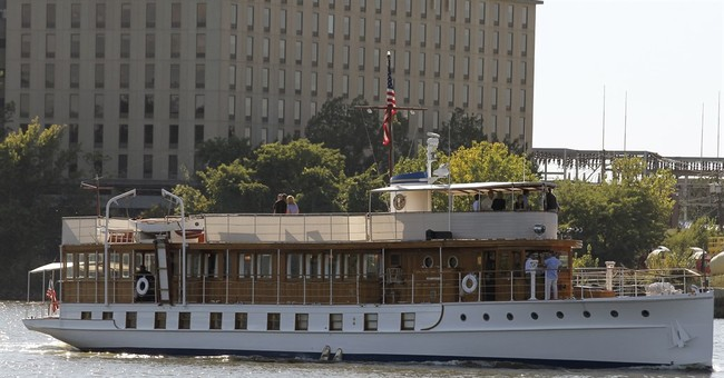 Judge gives lender 60 days to buy former presidential yacht