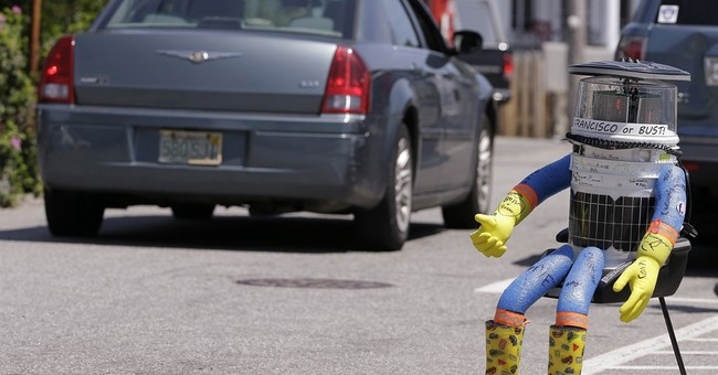 Creators of destroyed hitchhiking robot mull rebuild
