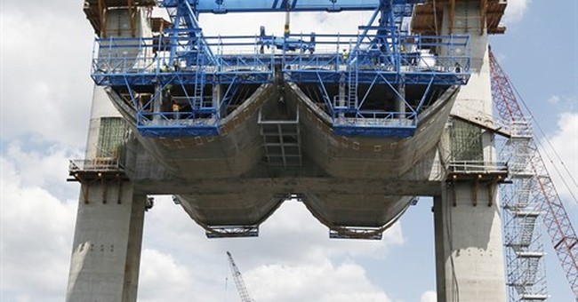 Tourists flock to gawk at massive highway bridge projects
